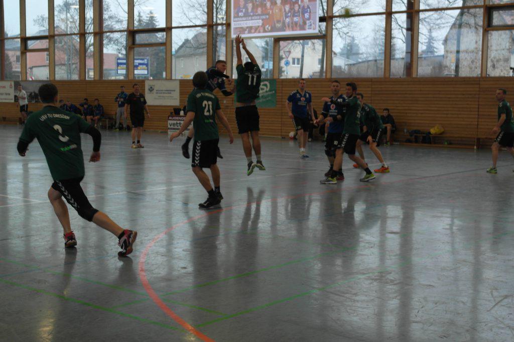 Männer 2 HSV Weinböhla Saison 2018/19 H USV TU Dresden