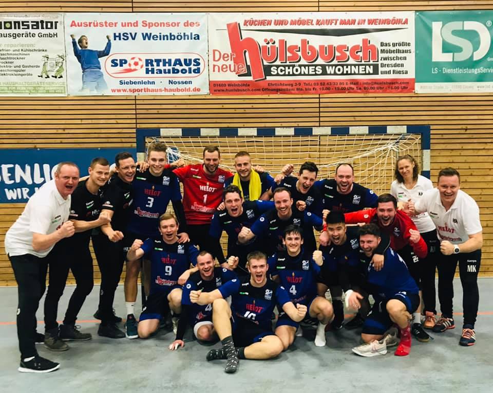 HVS-Landskron-Pokal, Erste Männermannschaft HSV Weinböhla, Saison 2019/20