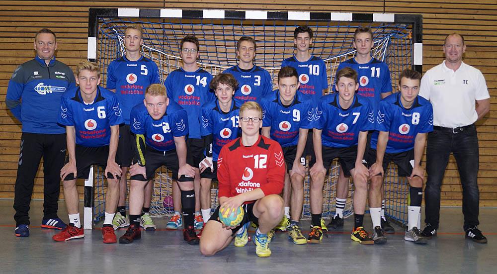 Männliche A-Jugend, HSV Weinböhla, Sachsenliga, Saison 2017/18
