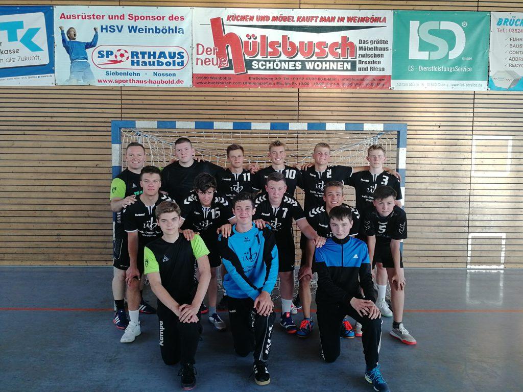 B-Jugend_HSV Weinböhla 19_20