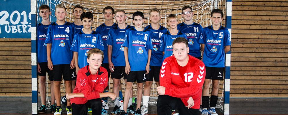 Männliche C-Jugend, Bezirksklasse Sachsen-Mitte, Saison 2019/2020. Foto: Verein