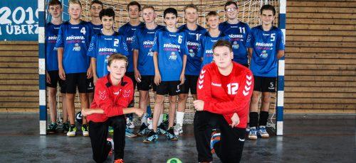 Männliche C-Jugend, Bezirksklasse Sachsen-Mitte, Sasion 2019/2020. Foto: Verein