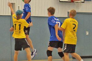 Die männliche C-Jugend konnte sich endlich in Großenhain durchsetzen.