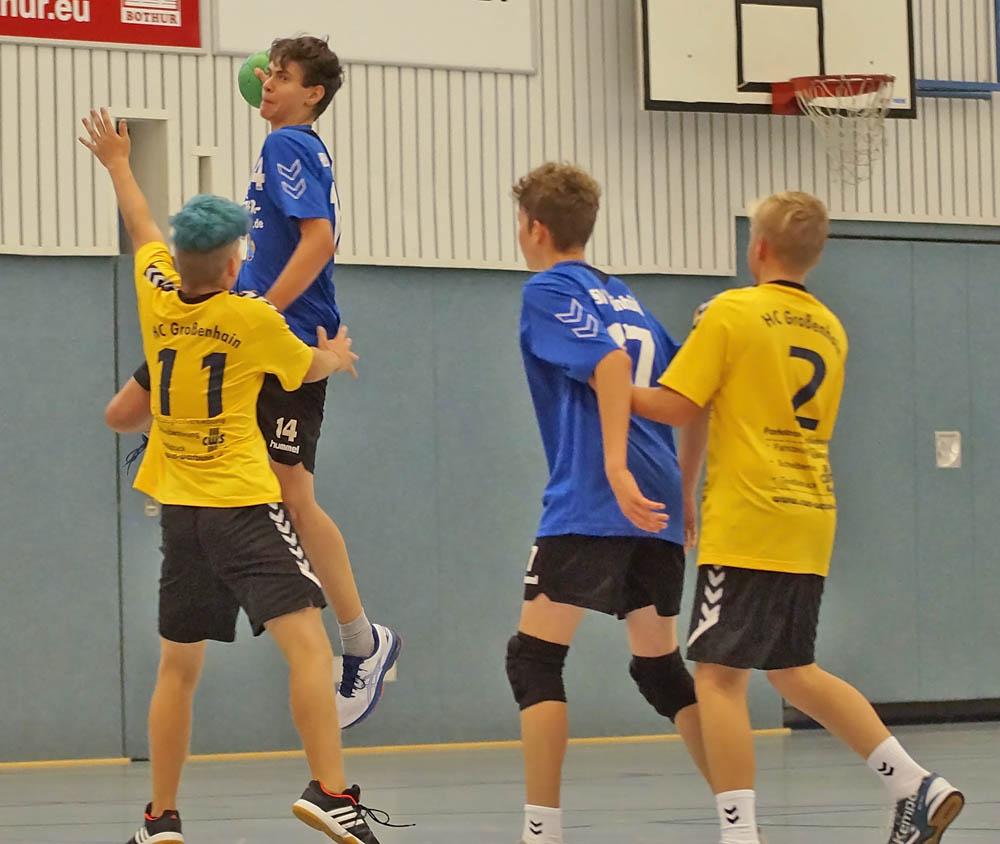 Männliche C-Jugend, HSV Weinböhla, Saison 2018/19