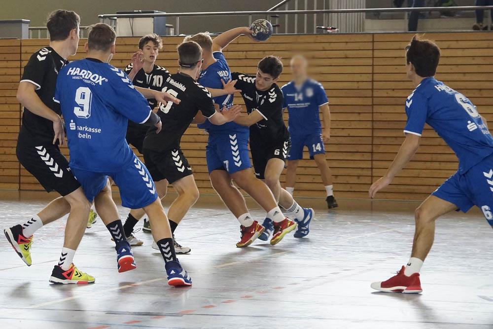 A-Jugend männlich, HSV Weinböhla, Sachsenliga, Saison 2018/19
