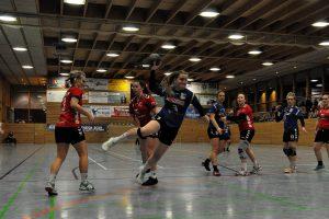 Denise erzielte vier Tore gegen Heidenau. Foto: Marlies Sorokin