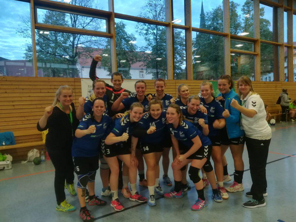 Zweite Frauenmannschaft, HSV Weinböhla, Saison 2018/19