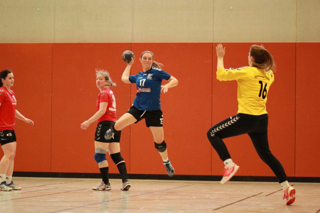 1. Frauenmannschaft, Auswärtsspiel bei Sportfreunde 01 Dresden