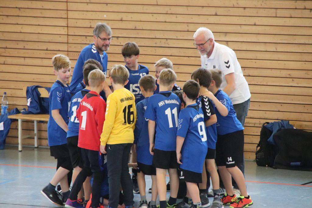 HSV Weinböhla, Männliche E-Jugend, Saison 2018/19