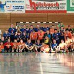 Die Verbandsliga-Männer zusammen mit den Männern von Prag Chodov.