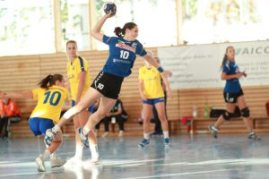 Wie schon in den vergangenen Spielen eine wichtige Stüze: Pia Hommel erzielte fünf Tore.