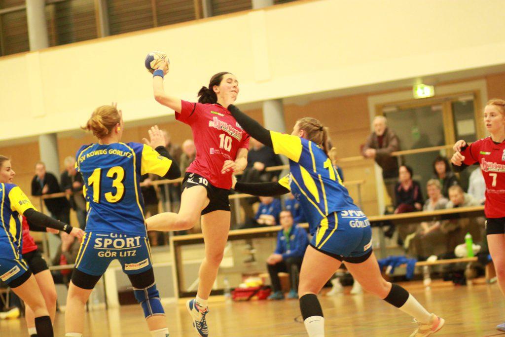 Pia Hommel, Verbandsliga Frauen Staffel Ost, Saison 2018/19, Erste Frauenmannschaft, HSV Weinböhla