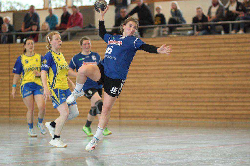 Franzi Klug, Verbandsliga Frauen, HSV Weinböhla, Saison 2018/19