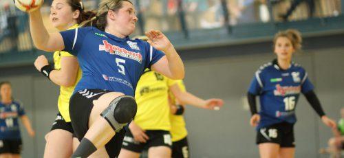 Krissi Löwe erzielte zehn Tore in der Partie.