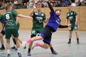 Lars Grießbach steuerte drei Treffer bei und sorgte für Ordnung in der Defensive.