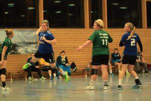 Krissi Löwe im Heimspiel gegen den Burgstädter HC.