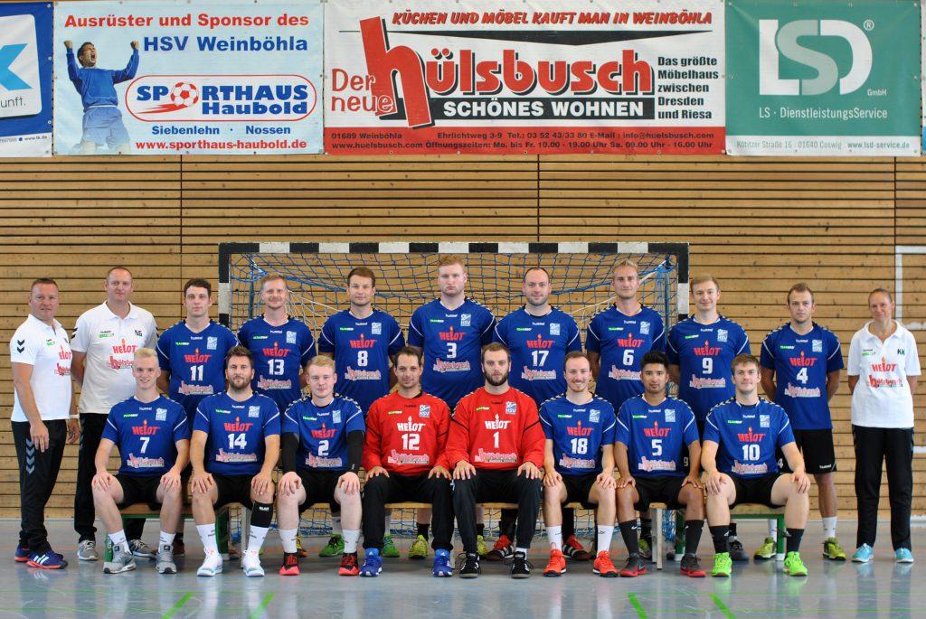 1. Männermannschaft HSV Weinböhla Saison 2018/19