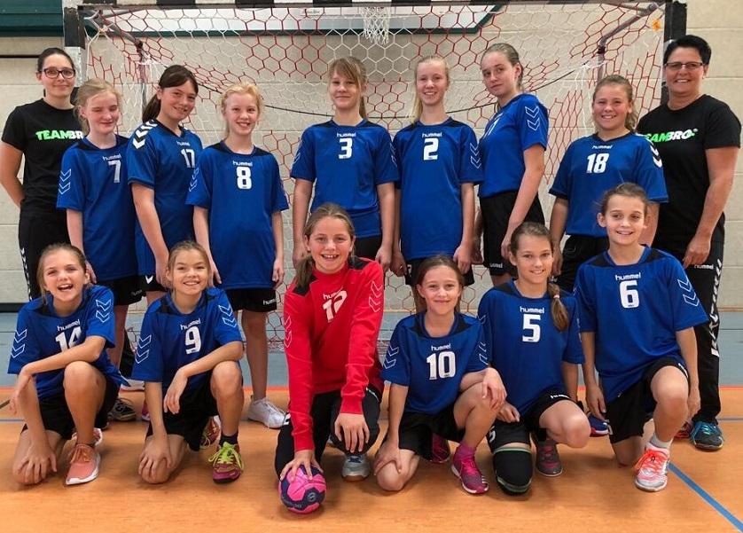 Weibliche D-Jugend, HSV Weinböhla, Saison 2018/19