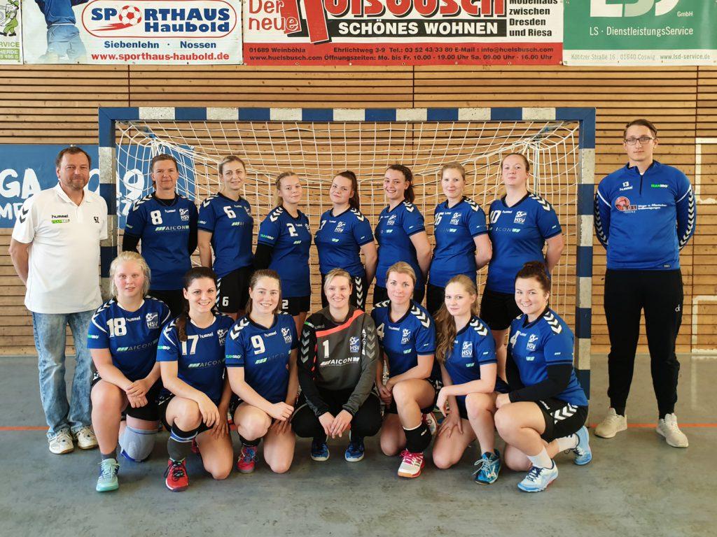 2. Männermannschaft HSV Weinböhla, Bezirksliga Sachsen-Mitte, Saison 2019/20