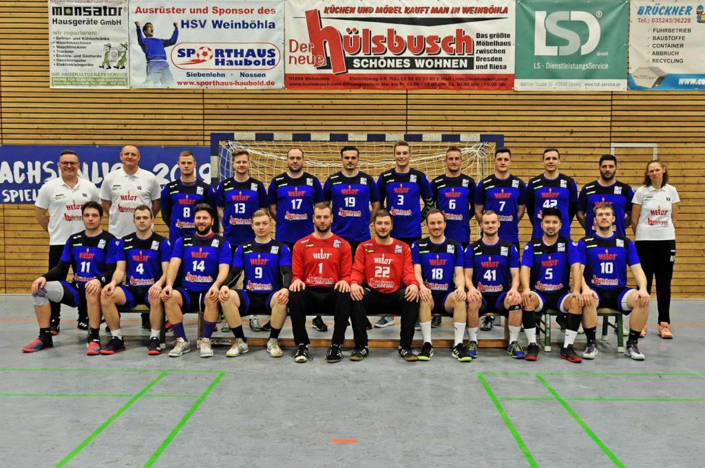 1. Männermannschaft HSV Weinböhla Saison 2019/2020