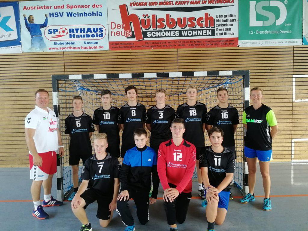 Männliche B-Jugend, HSV Weinböhla, Saison 2018/19