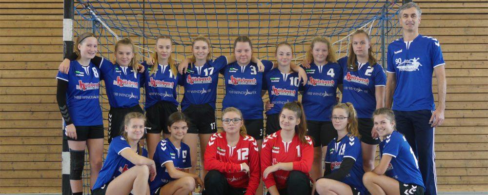 HSV Weinböhla, Weibliche C-Jugend, Saison 2018/19, Bezirksliga Sachsen-Mitte