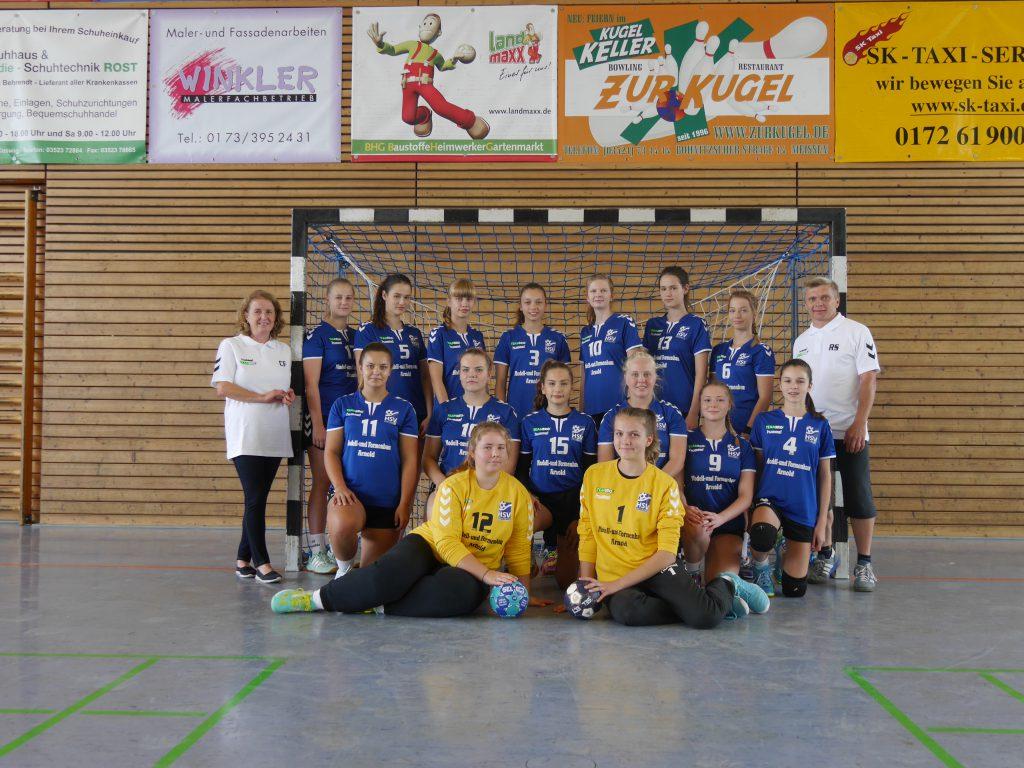 Weibliche B-Jugend, HSV Weinböhla, Saison 2018/19