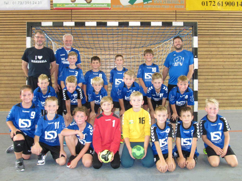 HSV Weinböhla, Saison 2018/19, Männliche E-Jugend, Kreisliga Dresden