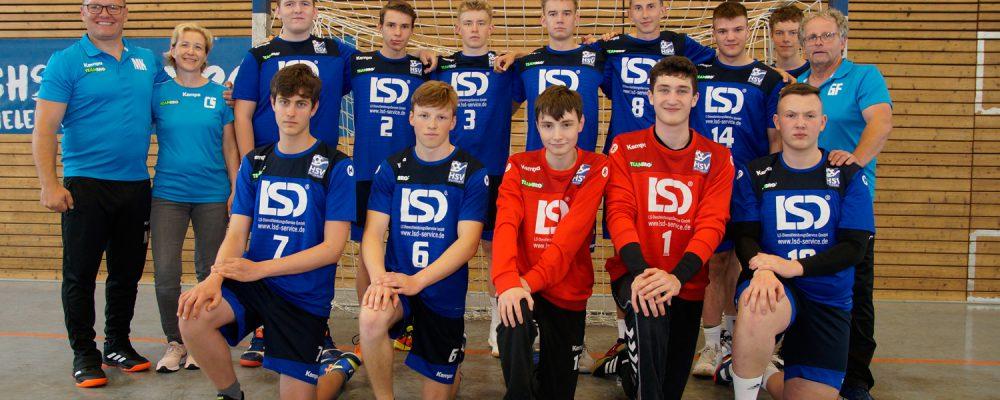 Männliche A-Jugend, Sachsenliga, HSV Weinböhla, Saison 2020/2021