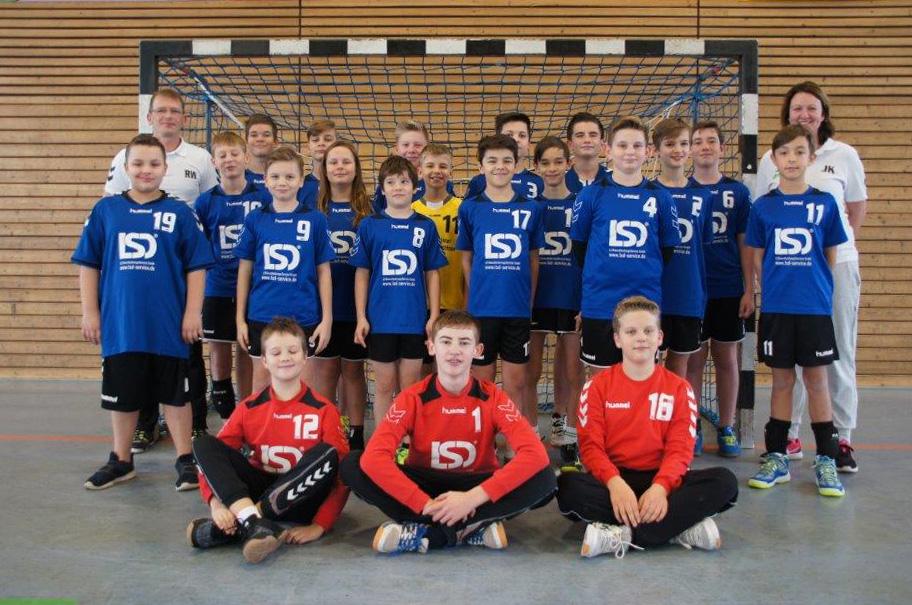 Männliche Jugend D, HSV Weinböhla, Saison 2018/19