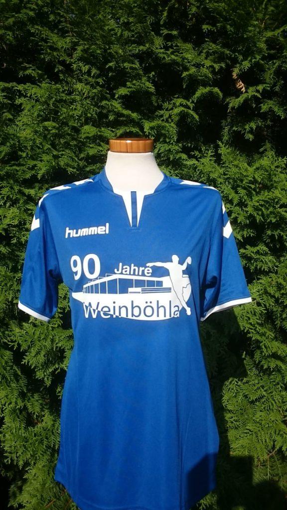 T-Shirt 90 Jahre Handball in Weinböhla, HSV Weinböhla
