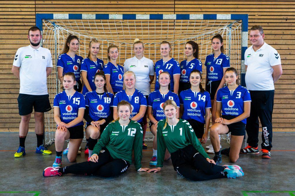 Weibliche A-Jugend, HSV Weinböhla, Bezirksliga Sachsen-Mitte, Saison 2020/2021