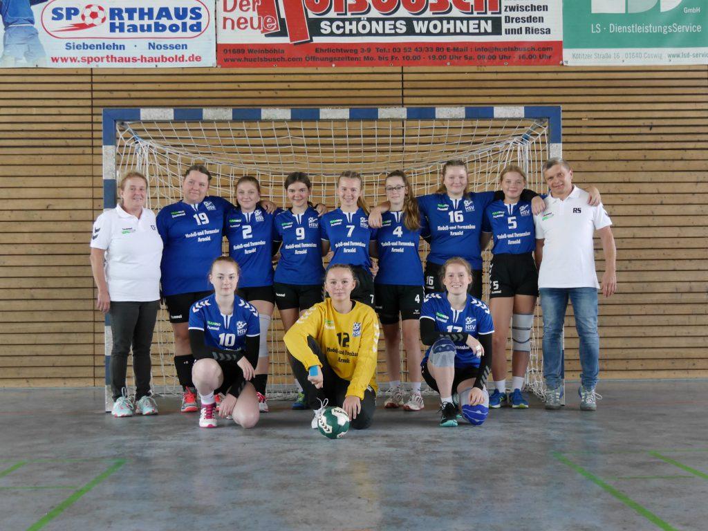 Weibliche B-Jugend, HSV Weinböhla, Bezirksliga Sachsen-Mitte, Saison 2020/2021