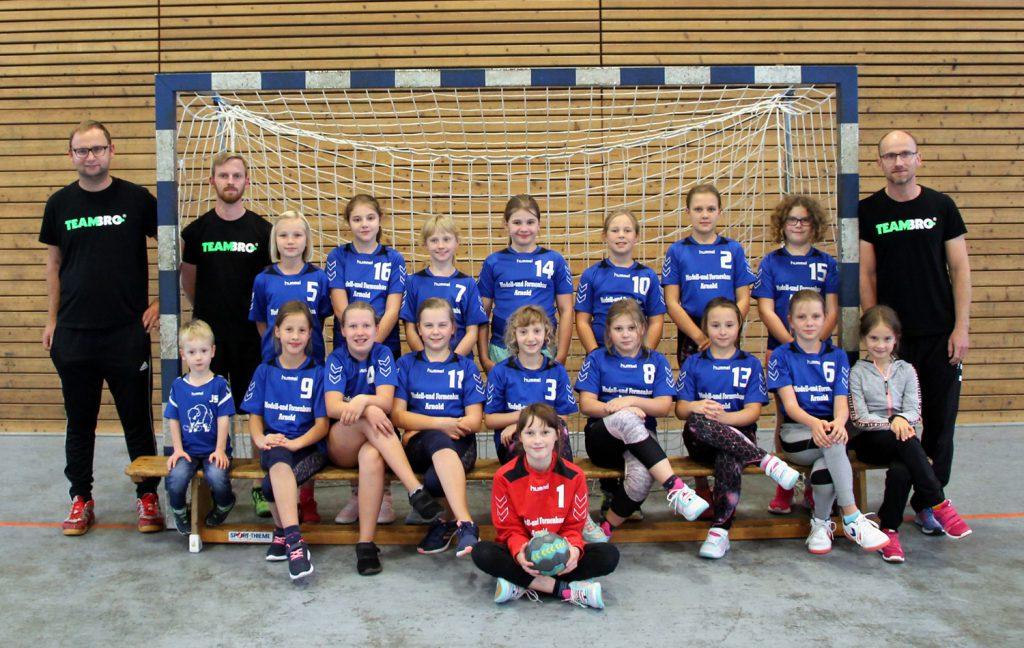 Weibliche E-Jugend, HSV Weinböhla, Kreisliga Elbe-Röder, Saison 2020/2021
