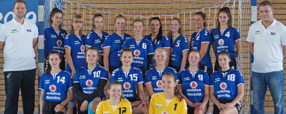 Weibliche A-Jugend HSV Weinböhla Saison 2019/2020