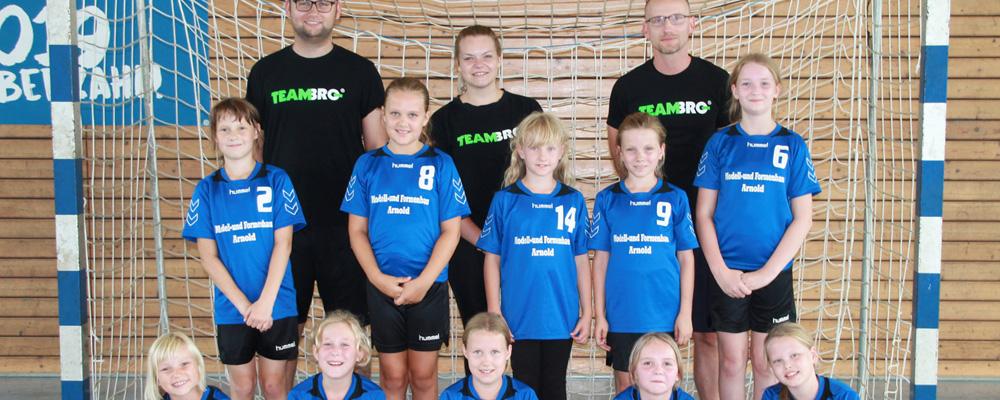 Weibliche Jugend E HSV Weinböhla Saison 2019/20